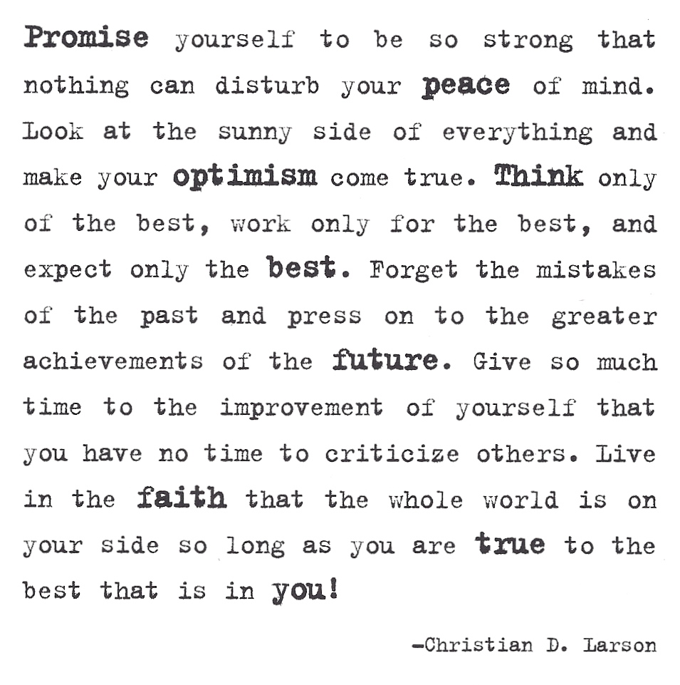 Words To Live By Quotes: A Friday Pick-me-up: Words To Live By