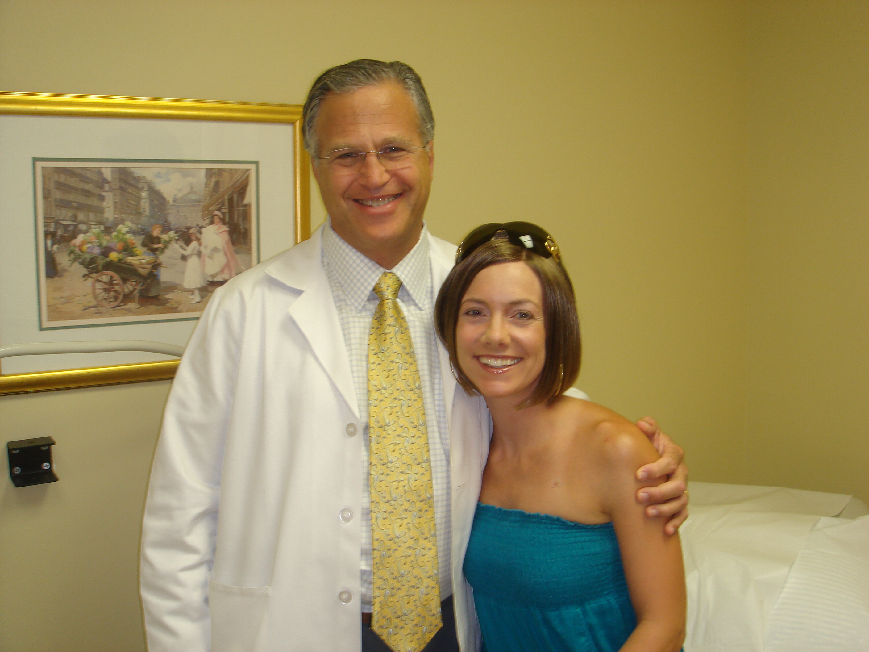 My Gyn Oncologist, Dr. Gerald Feuer